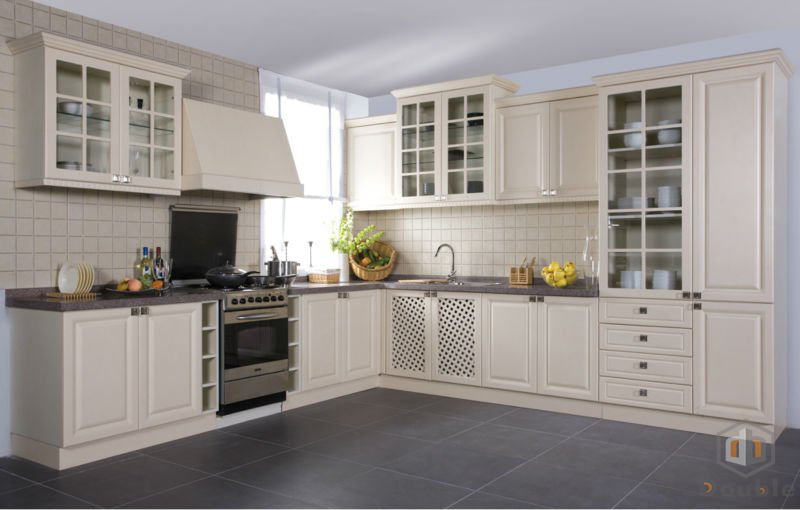 Pvc Kitchen Cabinet Customized Kitchen Cabinet Double